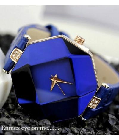 Reloj En Acero Inoxidable Kezzi Azul