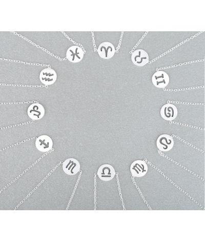 Pulseras de plata signos del zodiaco constelaciones