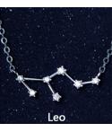 Collar con dije constelaciones zodiaco en plata