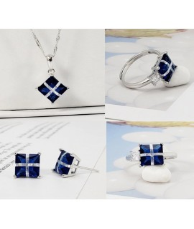 Set de joyas de regalo en plata