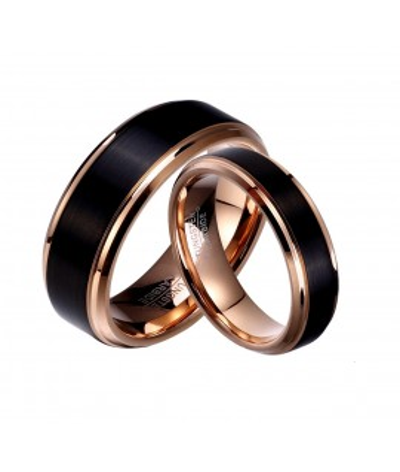 Argollas de matrimonio en tungsteno