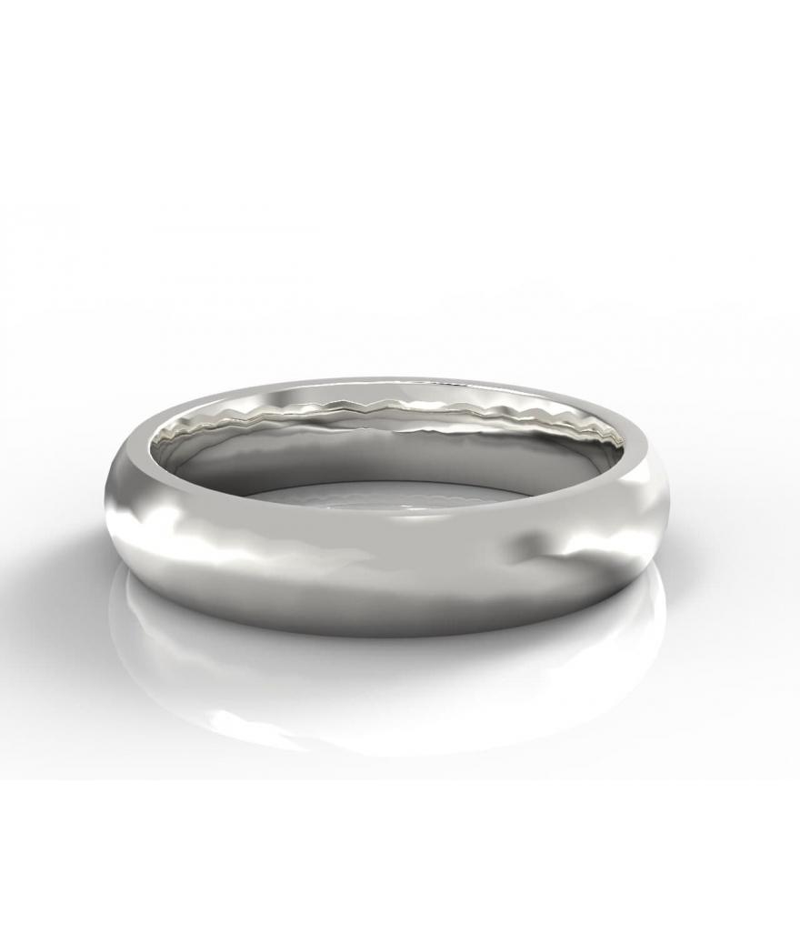 Argollas en plata clásica