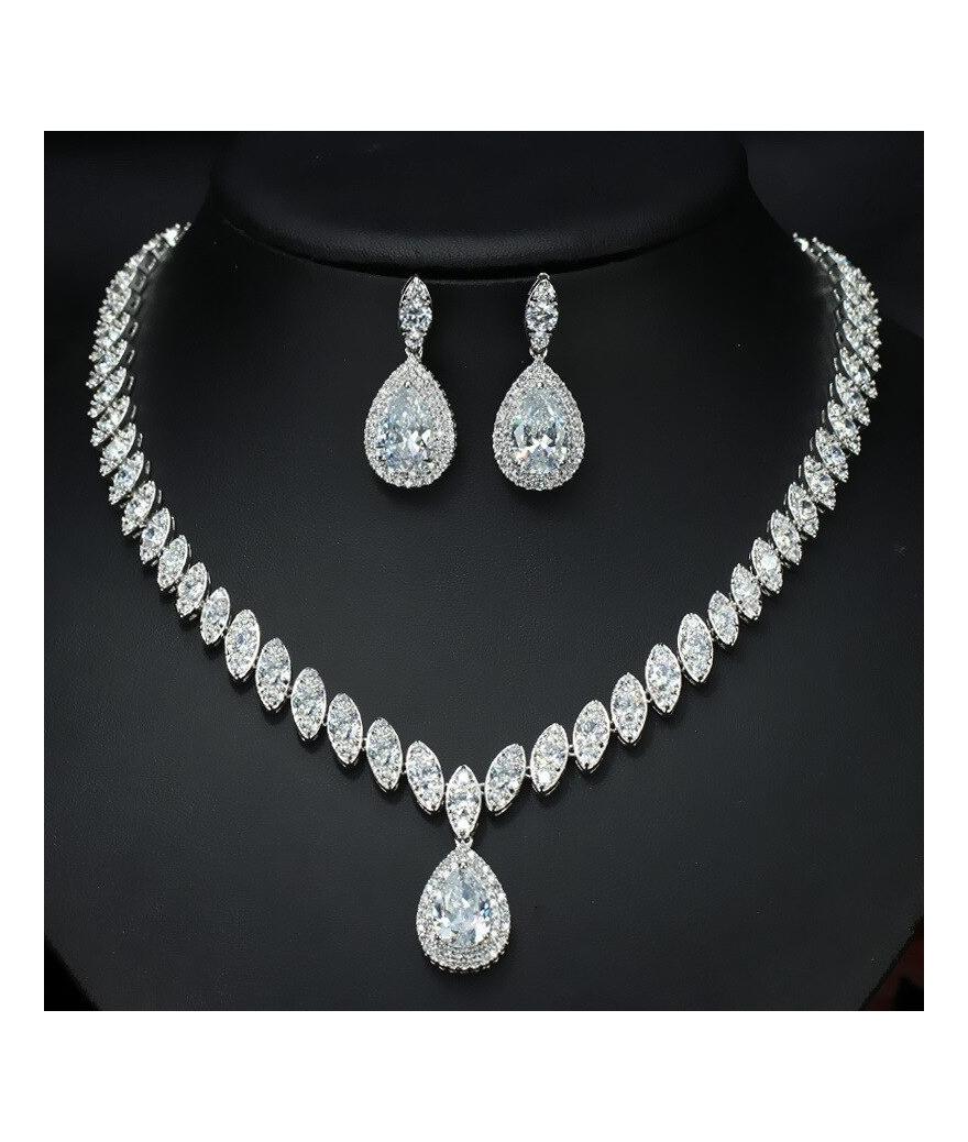Set de bodas con estuche de lujo en plata