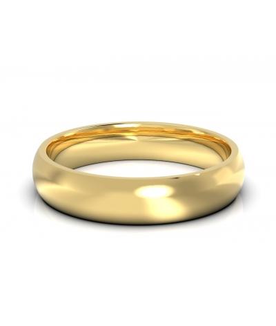 Argolla clásica en oro